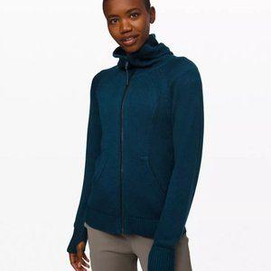 Lululemon Scuba Full Zip Sweater XS